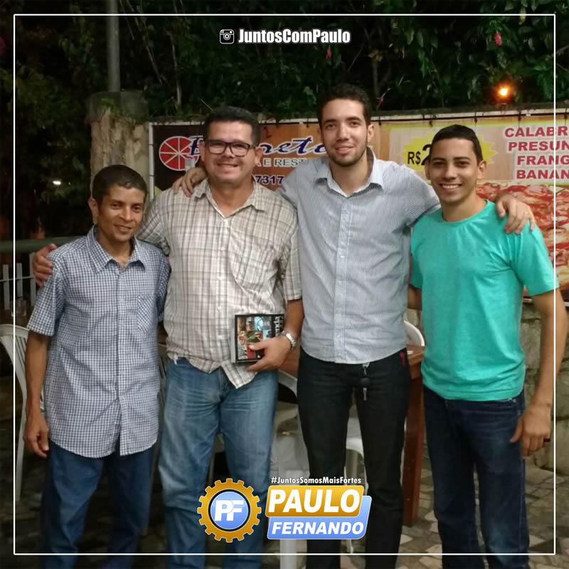 Paulo Fernando reúne lideranças