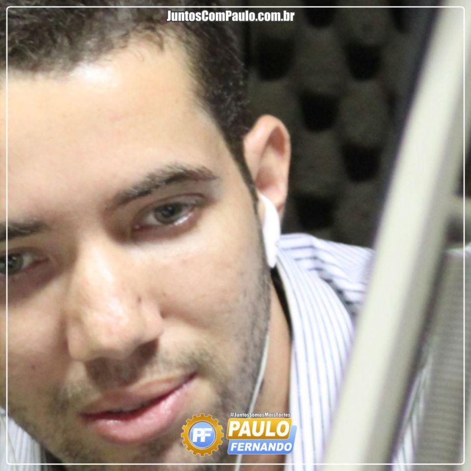 Paulo Fernando é destaque no Rádio
