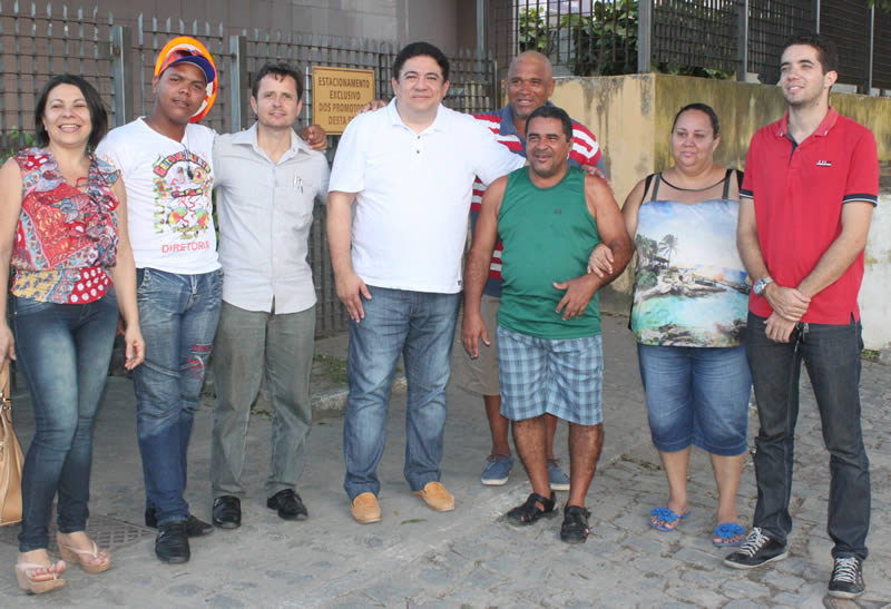 Paulo Fernando denuncia problemas o MP