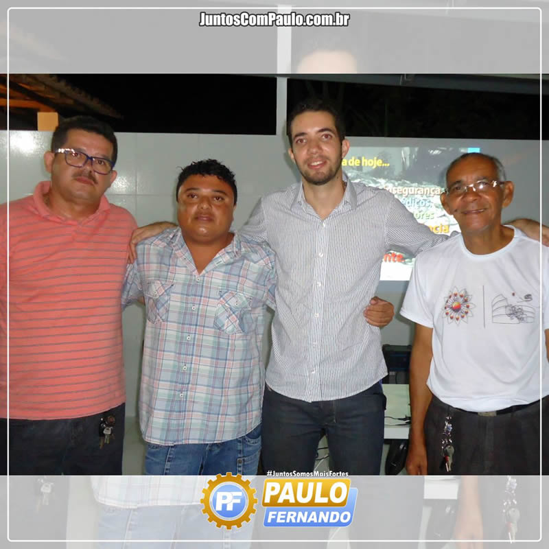Paulo Fernando discursa com os Paulistenses (1)