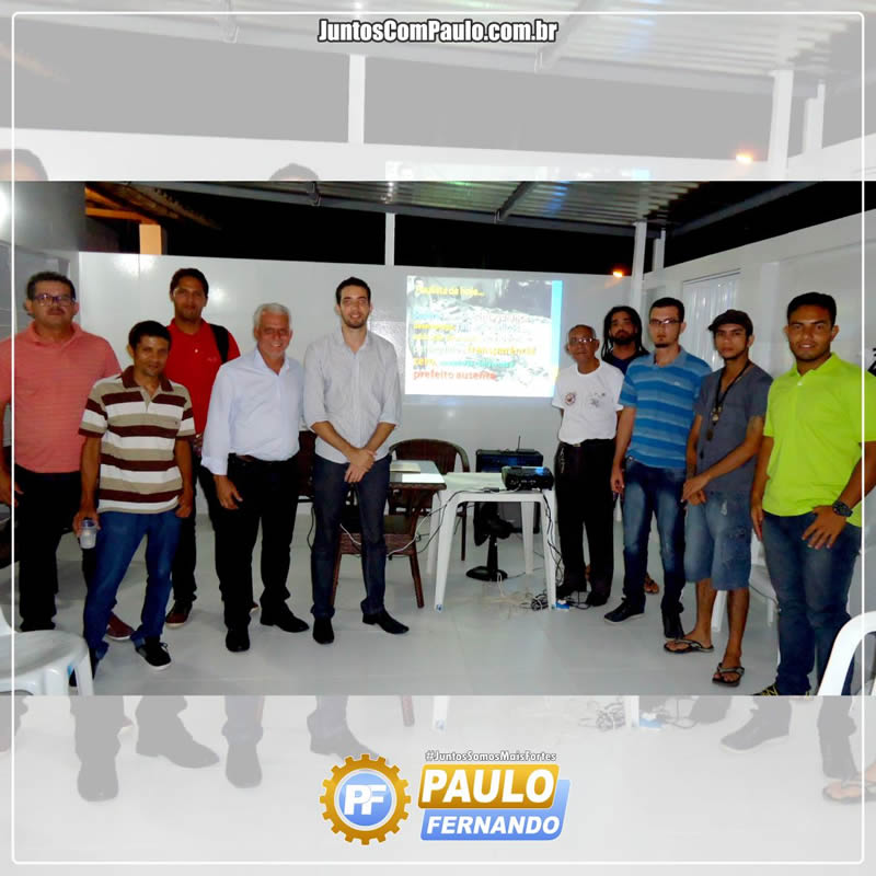 Paulo Fernando discursa com os Paulistenses (2)