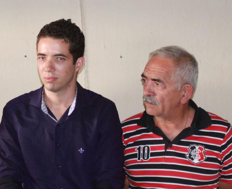 Paulo Fernando e Yves Ribeiro