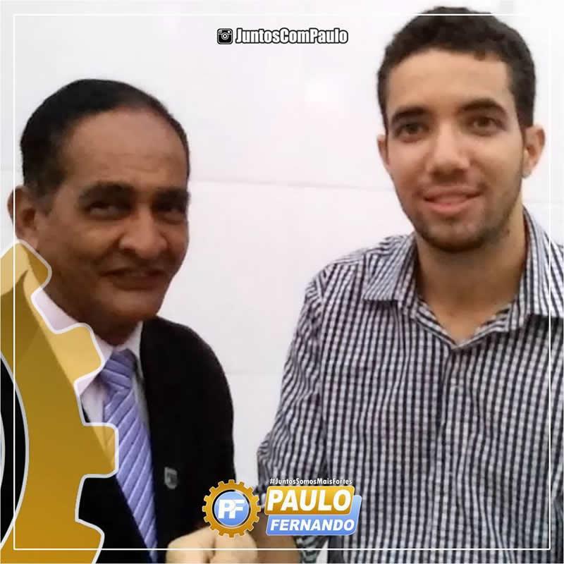 Paulo Fernando recebe mais apoio