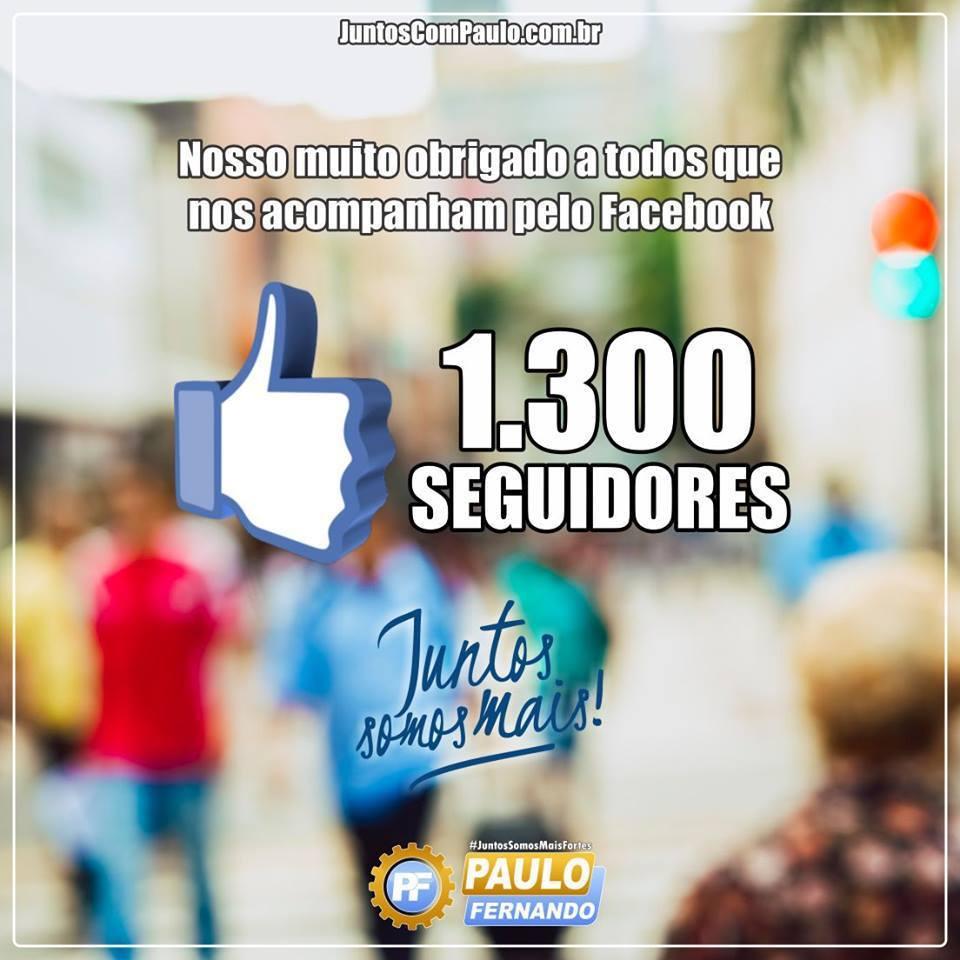 Paulo Fernando tem resultados positivos nas redes sociais
