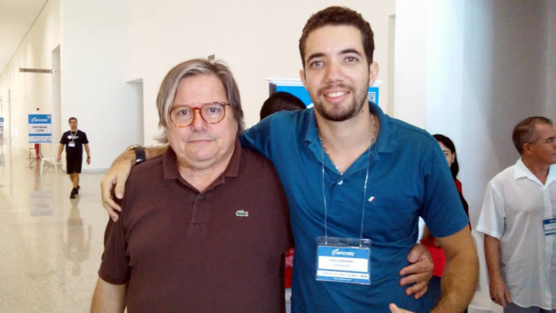 Paulo Moreira Leite e Paulo Fernando