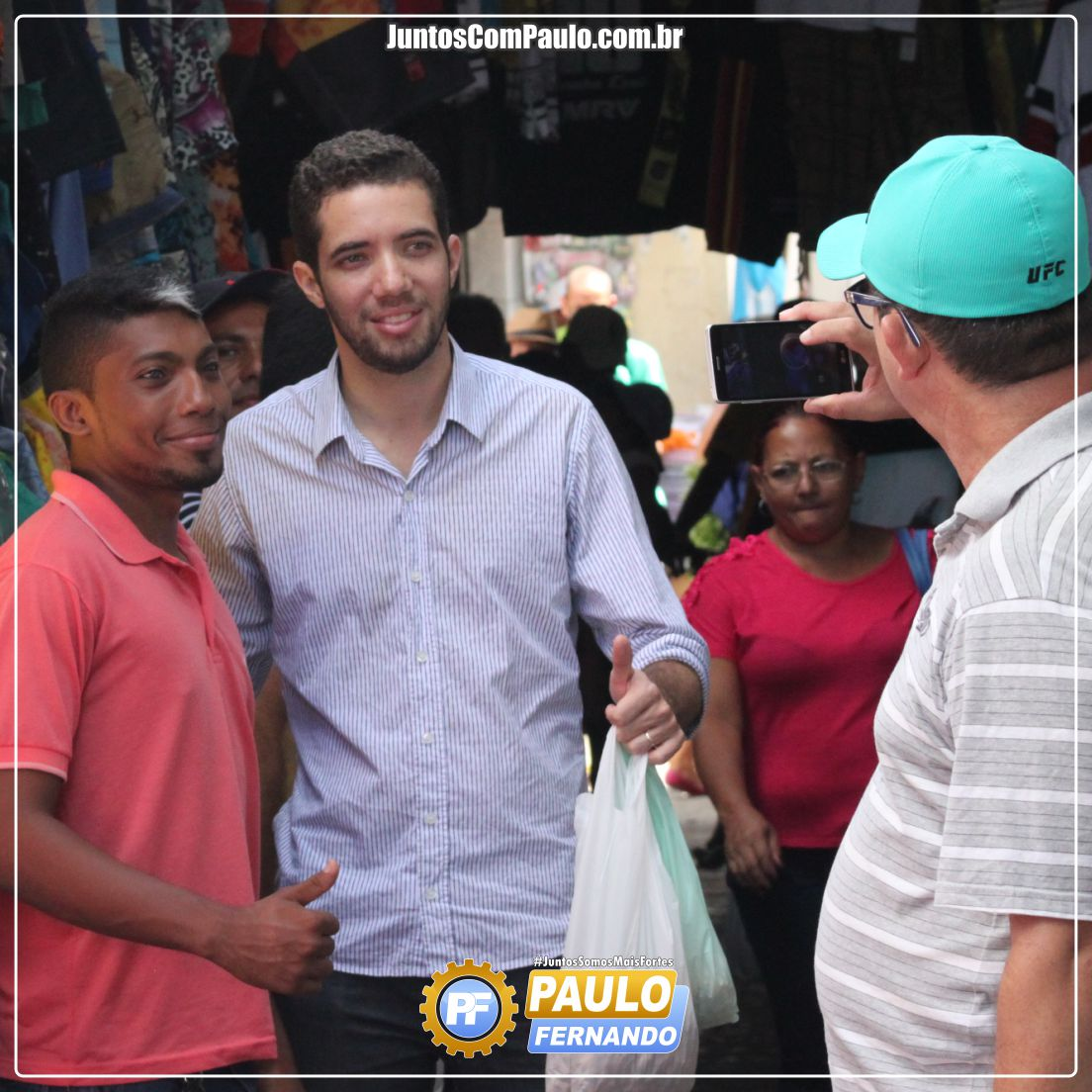 Paulo Fernando realiza visita à feira pública de Paulista  (6)