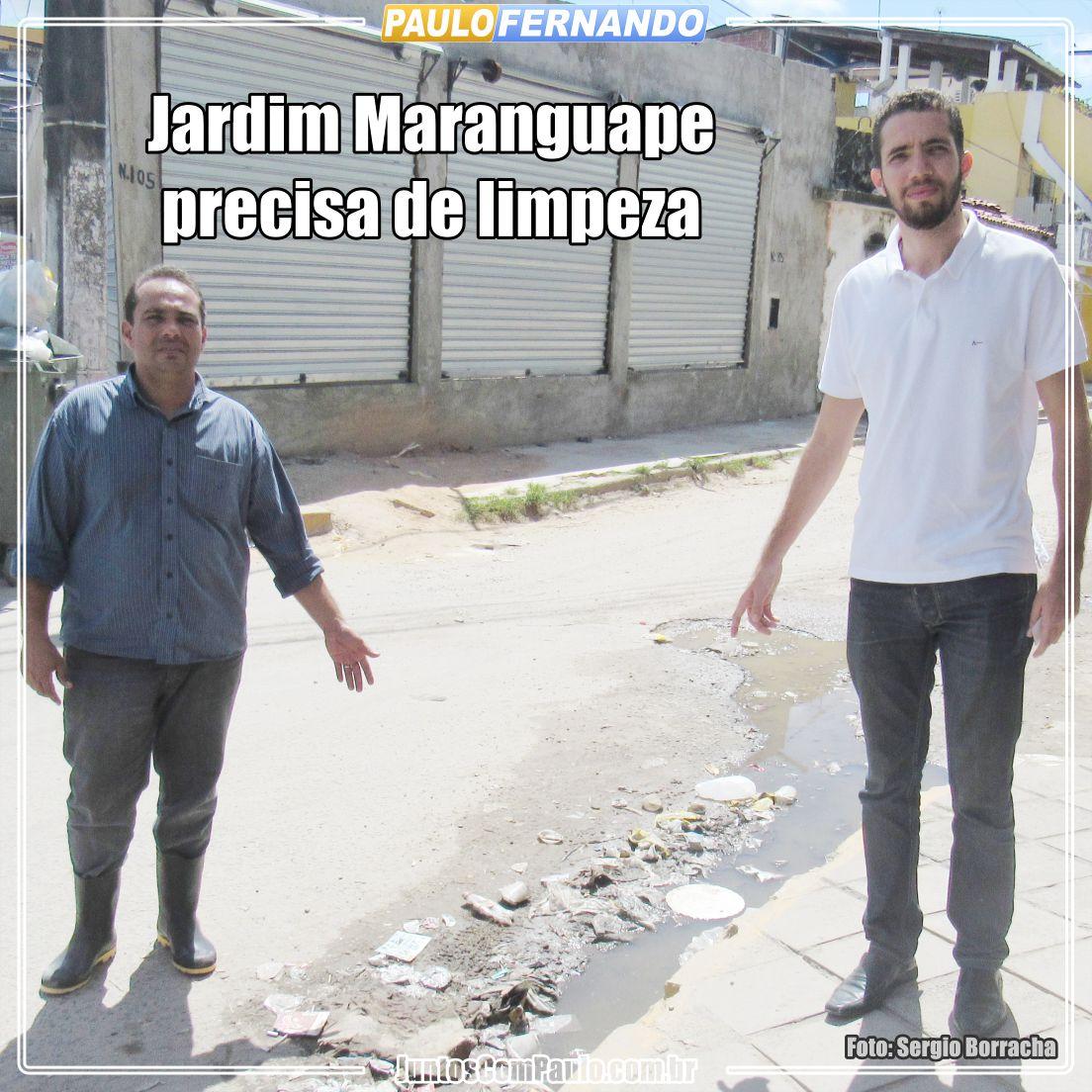 Jardim Maranguape precisa de atenção