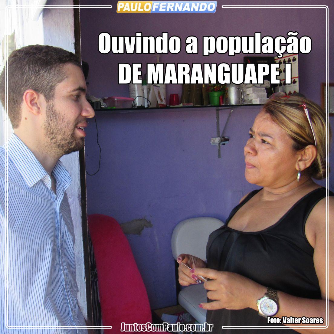 Paulo Fernando em Maranguape I