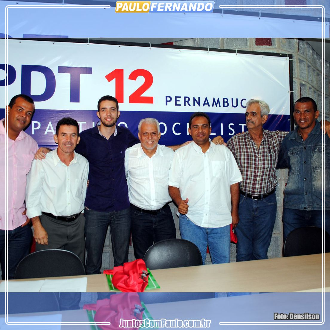 Paulo Fernando participa de evento do PDT