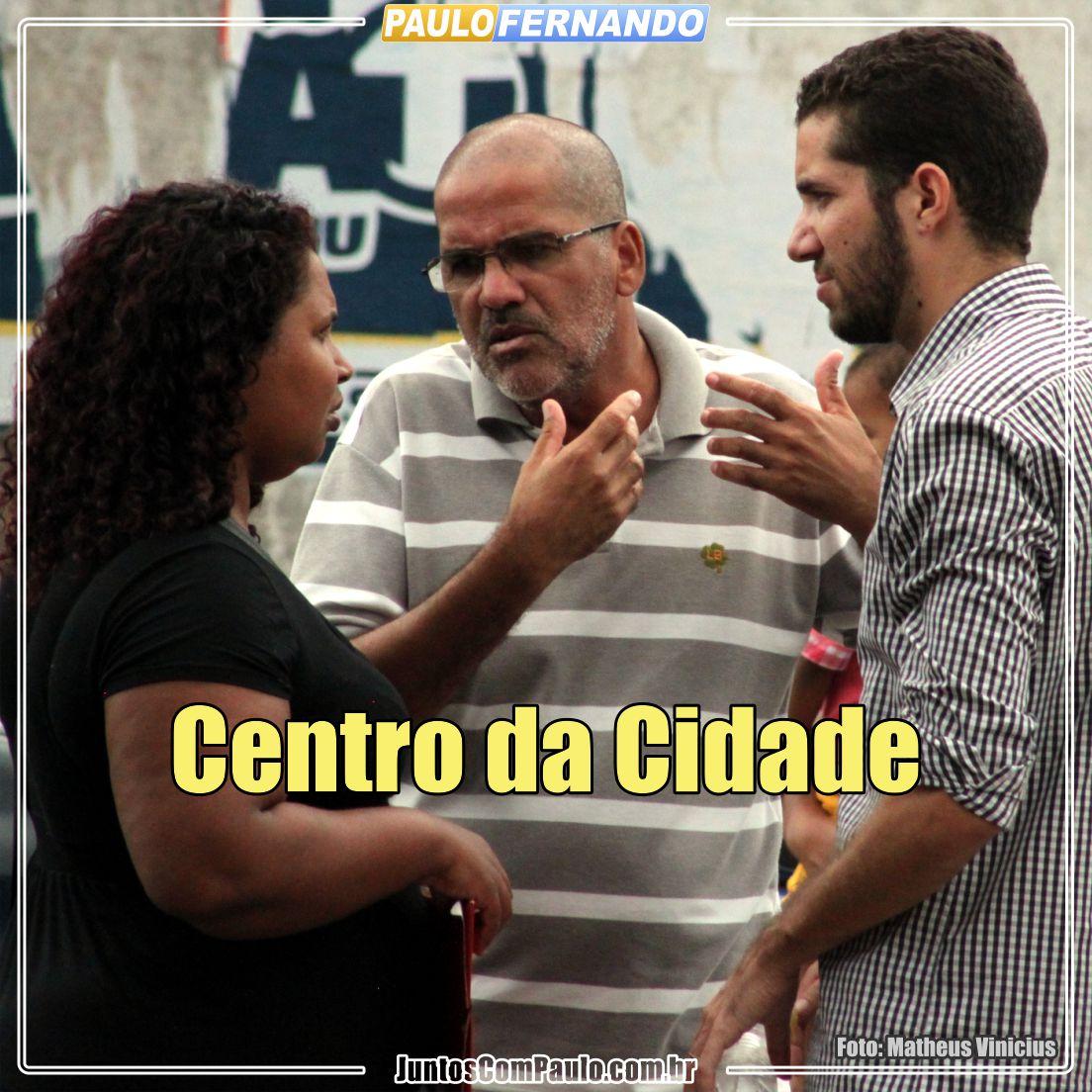 Na área central do Paulista