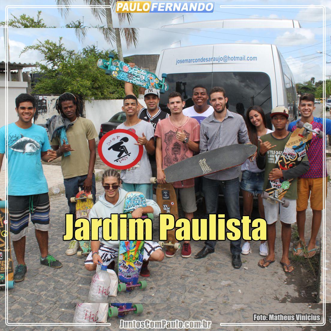 Skatistas Juntos com Paulo