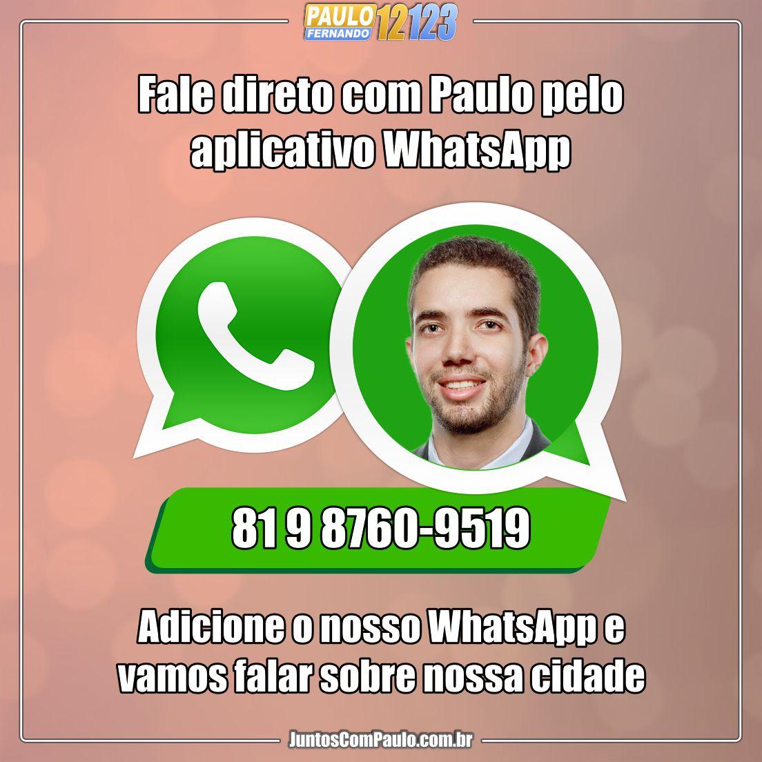 Fale com Paulo Fernando