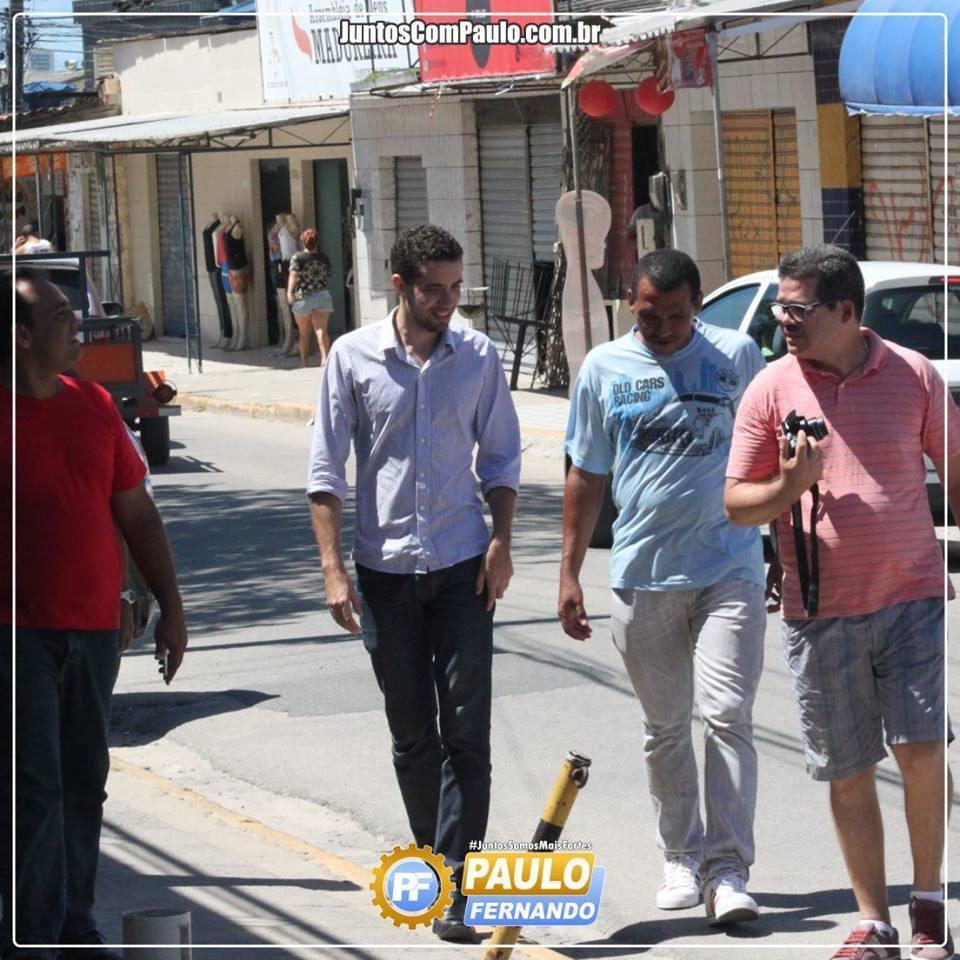 Paulo Fernando é bisbilhotado pela gestão do Paulista