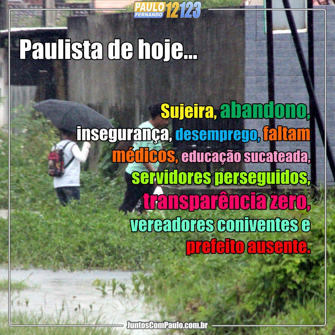 Paulo Fernando é candidato a vereador em Paulista
