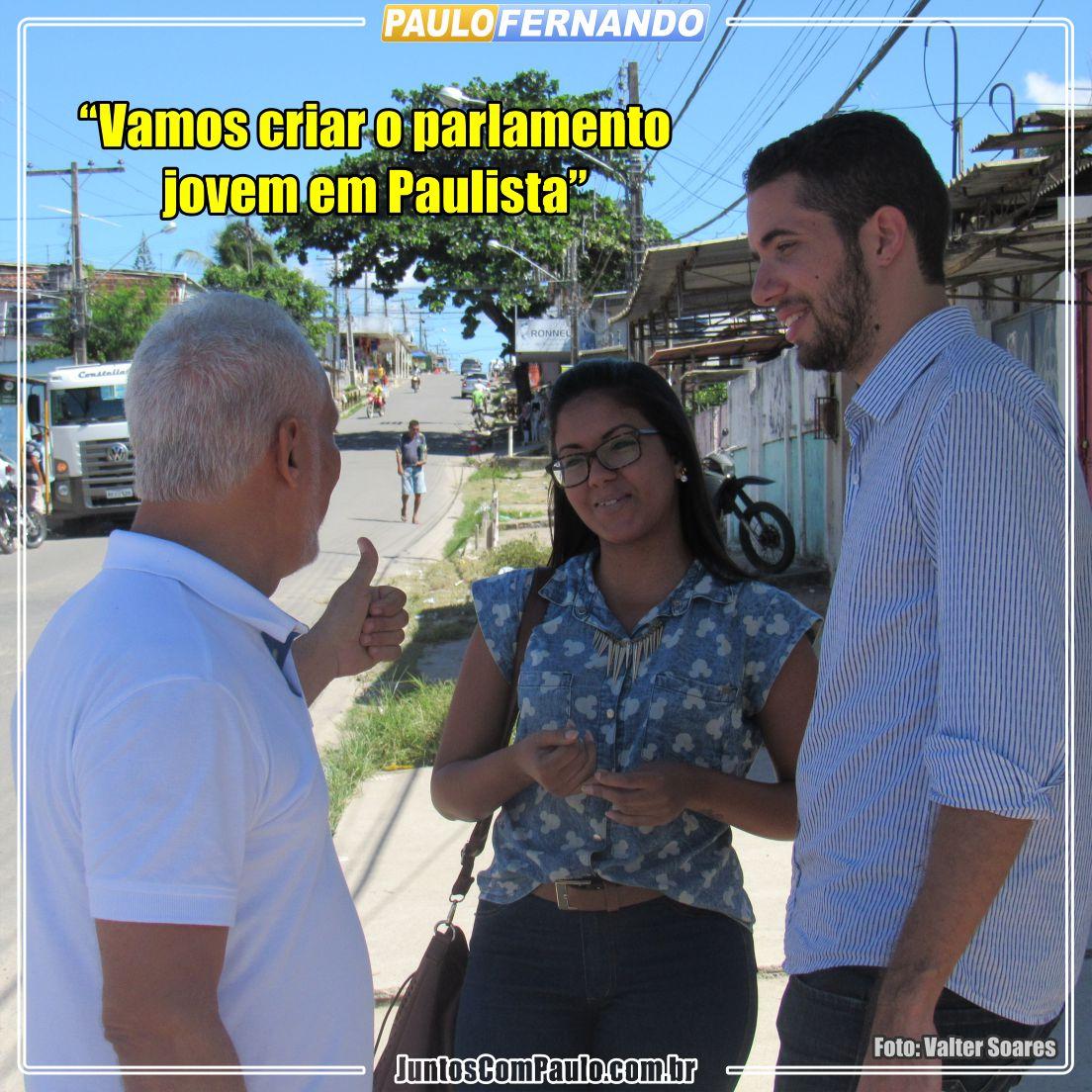 Paulo Fernando sempre inovando
