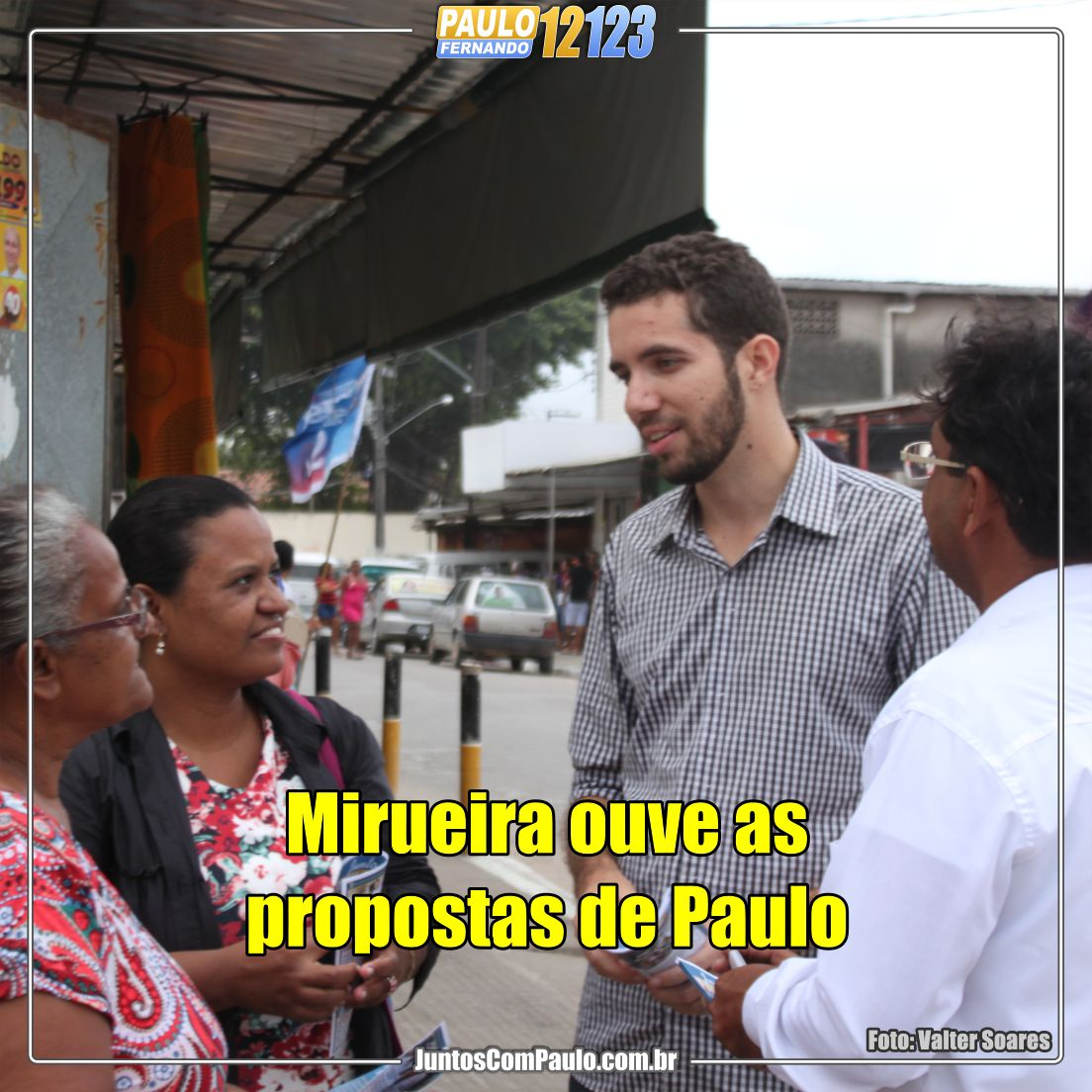 Agenda política de Paulo