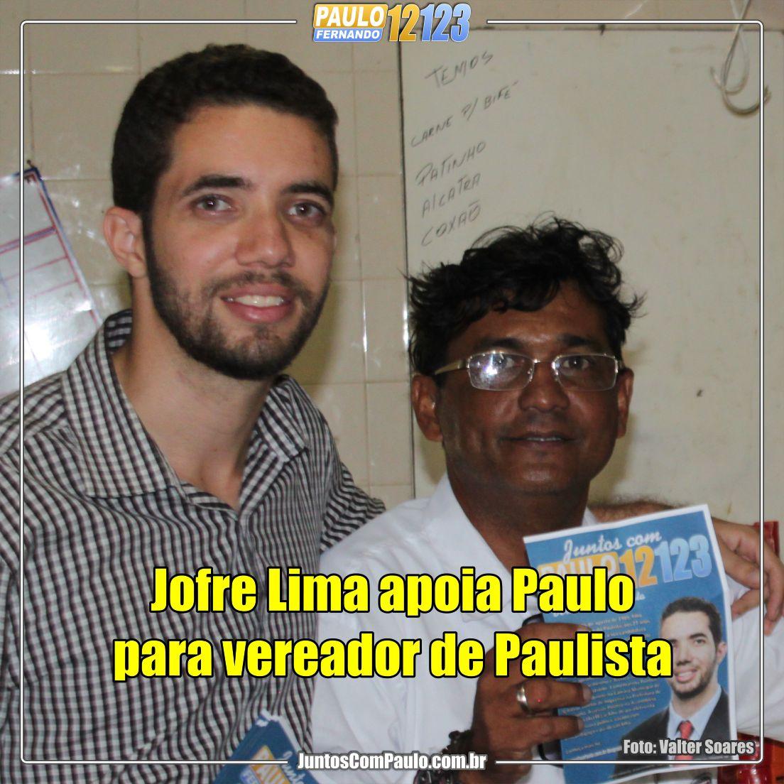 Lideres decidem apoiar Paulo Fenando